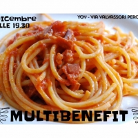 "Giovedi 1 dicembre, al Joy di Milano, ""MULTIBENEFIT""... Stand up cabaret e pasta all'amatriciana"