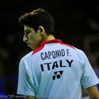 Fabio Caponio, Badminton: il sogno è poter partecipare ai Giochi Olimpici