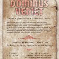 """""""Ecce Dominus Veniet"""" la prima e unica reinterpretazione in chiave moderna della musica contenuta nell'antichissimo MS. 4 """"Mattutinale Aquileiese"""" guarneriano"""