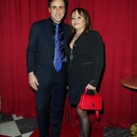 Libertà di satira, Antonello De Pierro con Adriana Russo alla prima del Bagaglino