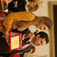 La talentuosa Miriam Galanti premiata a Roma