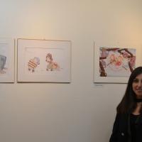 La magia del bosco. Inaugurata la mostra di Martina Ianiri alla Galleria 'Il Sipario' di Giulianello di Cori