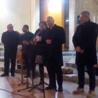 """Brusciano: Il tradizionale Concerto di Natale offerto dalla Pro Loco con il ritorno della """"Compagnia Daltrocanto"""".  (scritti da  Antonio Castaldo)"""