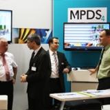 I progettisti esplorano il software per il disegno impiantistico 3D alla conferenza
