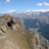 Pila (AO) Sabato 21 luglio 2012: A fil di cielo senza fatica: apre la seggiovia del Couis1