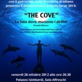 """Proiezione gratuita di """"The Cove"""" il 26 ottobre a Milano"""