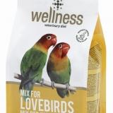 Linea Wellness: i mangimi super premium per i vostri inseparabili.