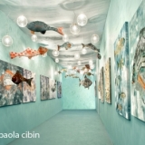 Anna Paola Cibin: l'artista del velluto e del vetro.