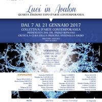 Expo d'Arte Contemporanea LUCI IN AVALON quarta edizione  - Premio NOLAVA alla giornalista, scrittrice e conduttrice televisiva LUCIA ANNUNZIATA