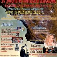 XIV° Concerto Pro Romitaggio Orto degli Ulivi Gerusalemme 2017