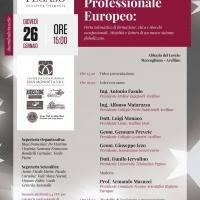 """PRESENTAZIONE IN ANTEPRIMA DEL """"REGISTRO PROFESSIONALE EUROPEO PER GLI OPERATORI PROFESSIONALI DELLA SICUREZZA"""""""