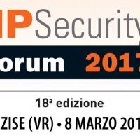 IP Security Forum 2017: 8 crediti formativi per i partecipanti