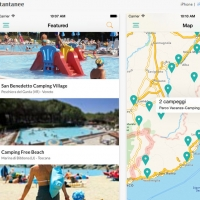A new version of app Campings is available for Android and iOS