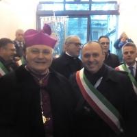 Mariglianella: Il Sindaco Felice Di Maiolo ha incontrato S. E. Mons. Francesco Marino nuovo vescovo della Diocesi di Nola.