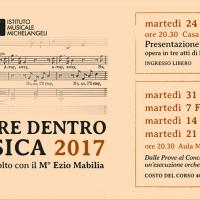 CURIOSARE DENTRO LA MUSICA 2017