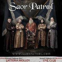 Gli scozzesi Saor Patrol in tour in Italia per tre date imperdibili a Milano, Brescia e Novara