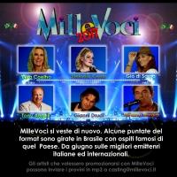 MilleVoci 2017, designati i conduttori del programma televisivo.