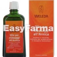 Easyfarma consiglia l'Olio per i massaggi all'Arnica di Weleda