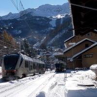 Limone Piemonte: in treno sulle piste