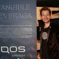 INTANGIBLE Alex Braga ha presentato all'IQOS Embassy di Roma  un'inedita installazione in cui l'acqua è l'elemento protagonista