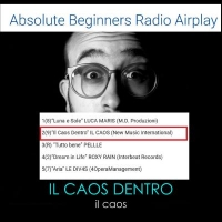 Il rumore de Il Caos si fa sentire : Il Caos Dentro in salita su iTunes Pop Chart #19 e in salita nell'airplay radio indie #2