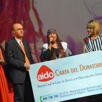 SANREMO MUSIC AWARDS: PREMIO ALLA CARRIERA PER ISKRA MENARINI CONSEGNATO DA HERMANN SALA