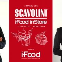 L'iFood inStore approda allo Scavolini Store Reggio Emilia con lezioni di cucina aperte al pubblico.