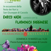 San Giuseppe di Cassola (VI)- Enrico Nadai in concerto con la Filarmonica Bassanese diretta da Davide Pauletto
