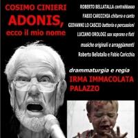 Adonis, ecco il mio nome per la voce di Cosimo Cinieri