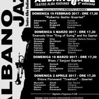 """Ettore Fioravanti presenta """"Traditori"""" al Festival di jazz Albano Laziale"""