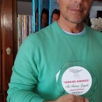 Antonio Zequila - Ferrari Awards di Anzio - Categoria Spettacolo ed. 2017