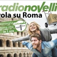 "Radionovelli punta sull'e-commerce con la campagna social e web ""Radionovelli Vola su Roma"""