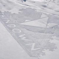 THINDOWN™ SCEGLIE DELTA PICTURES E DÀ IL VIA ALLA DIGITAL ADV  La Snow Art di Simon Beck con THINDOWN™ protagonista dello spot