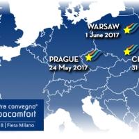 I PAESI DELL'EUROPA DELL'EST AL CENTRO DEL TOUR DI MCE 2018