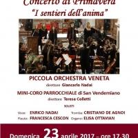 I SENTIERI DELL'ANIMA con Enrico Nadai e la Piccola Orchestra Veneta a Zoppe' di san Vendemiano (TV)