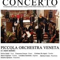 PIEVE DI SOLIGO (TV)- Enrico Nadai e la Piccola Orchestra Veneta in concerto