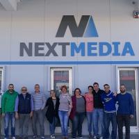 Crescono gli spazi, crescono gli obiettivi. Nextmedia ufficializza il trasferimento nella nuova sede