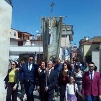 Brusciano: La Questua del Giglio Passo Veloce per la partecipazione alla 142esima Festa dei Gigli in onore di Sant'Antonio di Padova. (Scritto da Antonio Castaldo)