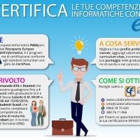 Reggio Calabria – Al via le Certificazioni EIPASS di Calabria Formazione