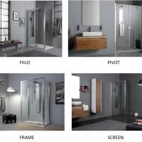 Grandform presenta la collezione Shower: soluzioni vetro spessore 6 mm