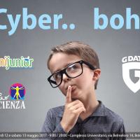 """""""Cyber boh"""" – dal 12 al 13 maggio a Bologna il più grande evento per scuole e famiglie sui pericoli del web"""