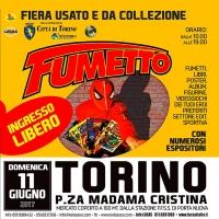 FIERA DEL FUMETTO - DOMENICA 11 GIUGNO A TORINO... COLLEZIONE, USATO, RARITÀ
