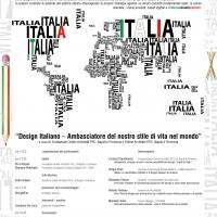 Design Italiano - Ambasciatore del nostro stile di vita nel mondo