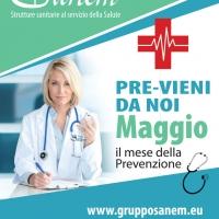 Laboratorio analisi Roma – prevenzione di Maggio con il Gruppo Sanem