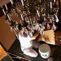 Come pulire un lampadario