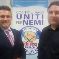 Italia dei Diritti a Nemi sostiene Alberto Bertucci Sindaco