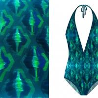 EUROJERSEY  presenta le tecnologie di stampa ad alta definizione dei tessuti Sensitive® Fabrics nelle collezioni Swimwear