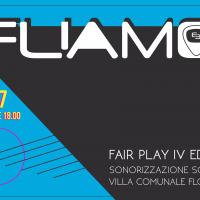 Eliamo live alla IV edizione di Fair Play. Sonorizzazione sociale.