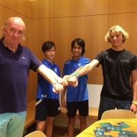 Rappresentanti delle istituzioni e campioni dello sport incontrano i ragazzi della Delfino Pescara, ambasciatori di Football for Friendship