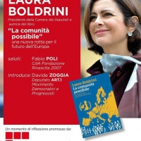 Venezia. ncontro con Laura Boldrini, Presidente della Camera dei Deputati e autrice del libro